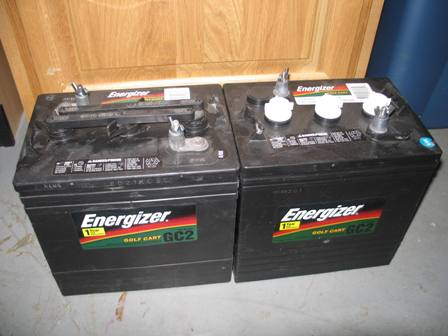 Volt Batteries on You Can See Below The Label  These Are Energizer Egc2 Batteries  They