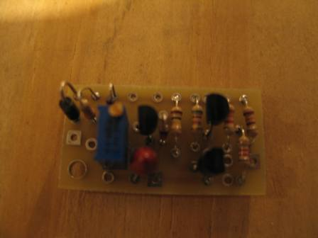 Charge Controller Soldered together